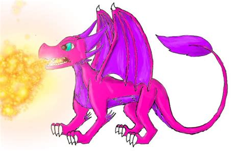 Image result for pink dragon