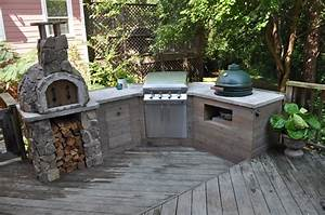 Build Your Own Outdoor Kitchen Island
