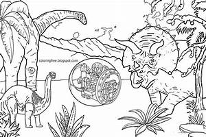 Jurassic Park Coloring Pages Printable Coloring For Kids