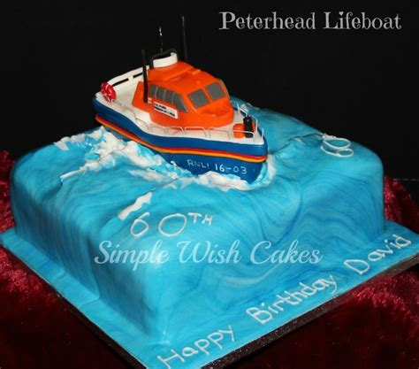 images  rnli inspired cake  pinterest