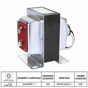 New   Pro 24v 40va Doorbell Transformer Compatible