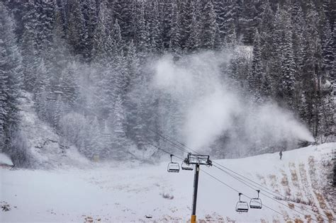 #Snow coming from above and below today getting
