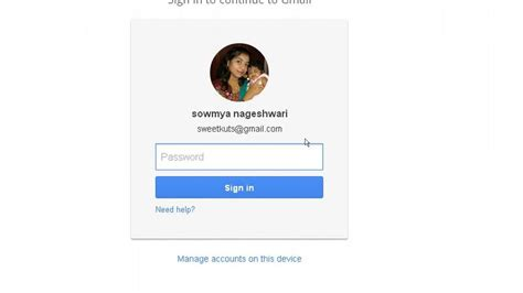 Sign In As Different User In Gmail