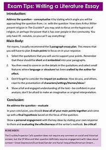 010 Essay Example Literature Introduction Literary Thesis