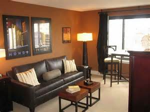 best color to paint a living room with leather sofa home
