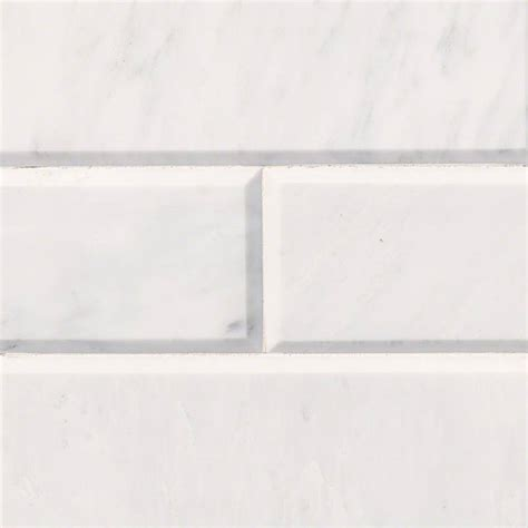 subway tile carrara white marble subway tile 4x12