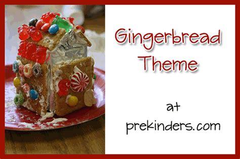 gingerbread theme prekinders 403 | gingerbread