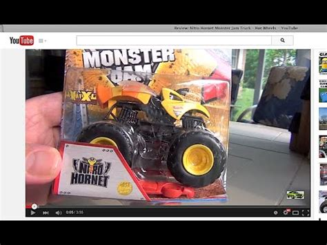 nitro hornet monster truck review nitro hornet monster jam truck wheels youtube