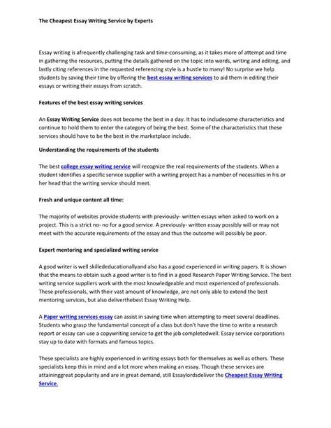 executive outline writing service