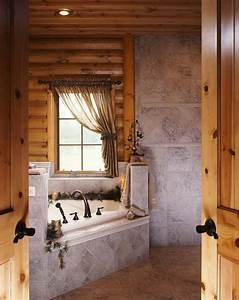Photos of a Modern Log Cabin | Bathrooms I Adore and More ...