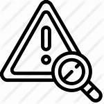 Risk Icon Security Cyber Icons Icono Riesgo