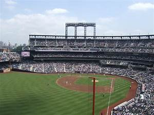 New York Stadium Seating Chart Citi Field New York Mets Ballpark Ballparks Of Baseball