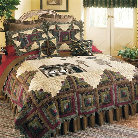 white bed comforters northwoods quilt bedding by donna sharp