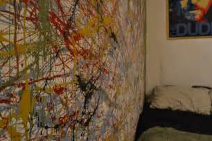 Splatter Paint Bedroom by Jackson Pollock Splatter Paint Diy Moda Magazine