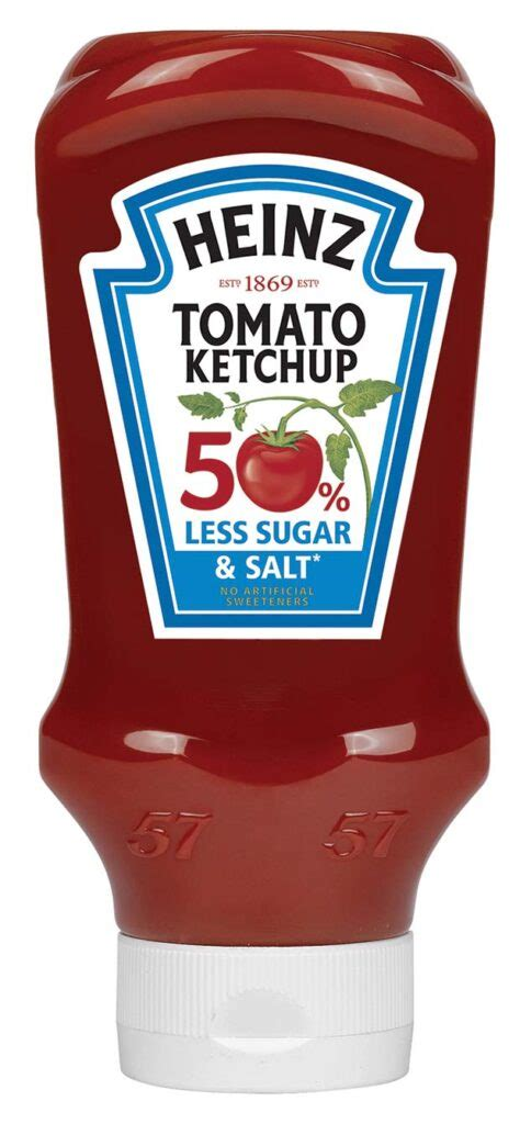 Kraft Heinz launches new Heinz Tomato Ketchup with 50% ...