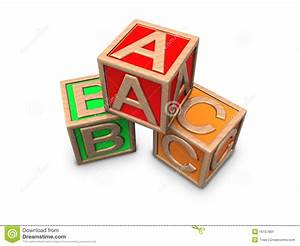 wooden blocks with letters a b c stock image image 16157861 With toy blocks with letters