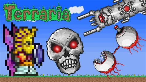 terraria xbox boss hunting  youtube