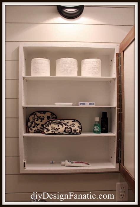 small bathroom medicine cabinet ideas diy pottery barn inspired medicine cabinet hometalk