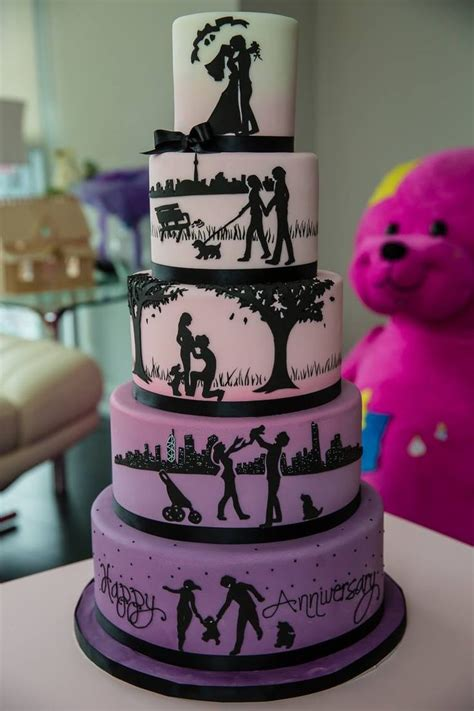 Some Beautiful Anniversary Cakes Anniversary Cake Ideas
