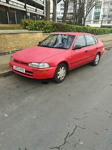 Old Car Toyota Corlla 1 3 Start Drive Good Long Mot 1 3