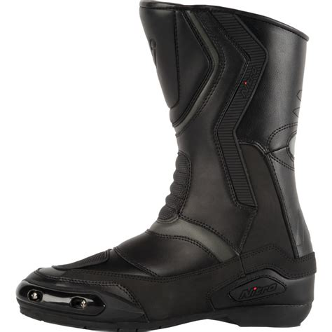 cruiser motorbike boots nitro nb 41 cruiser touring leather waterproof motorbike