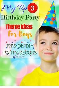 7 Year Old Boy Birthday Party Ideas