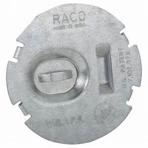 Raco Flat Round Wire Protection Plate  50-pack -700f