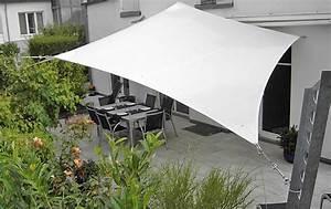 Sonnensegel Für Terrasse : sonnensegel f r terrasse und balkon sch ner wohnen ~ Sanjose-hotels-ca.com Haus und Dekorationen