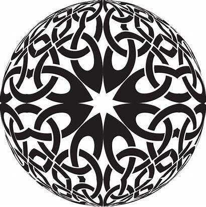 Celtic Knot Sphere Clipart Svg Pdf