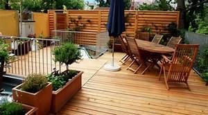 decoration pour terrasse exterieur terrasse patio 7 With chambre bébé design avec fleurs artificielles pour l extérieur