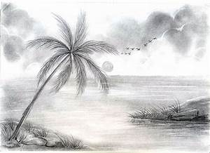 Beautiful Amazing Pencil Drawing Of Nature - Drawing Of Sketch
