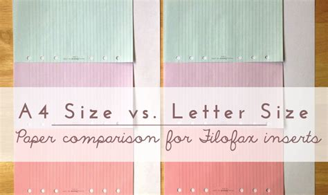 a4 vs letter getting ready for new planner printables lime tree fruits 20353