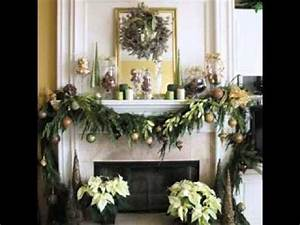 Easy DIY Christmas mantel decorating ideas