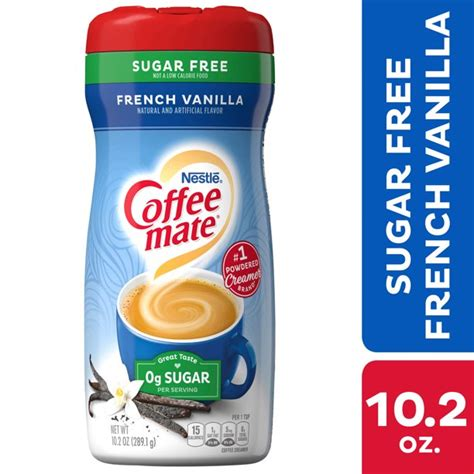 Let's make keto friendly creamer for coffee! Nestle Coffee mate French Vanilla Sugar Free Powder Coffee Creamer 10.2 oz. - Walmart.com ...