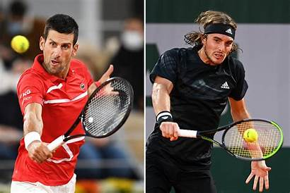 Tennis Djokovic Tsitsipas Novak Roland Garros Stefanos