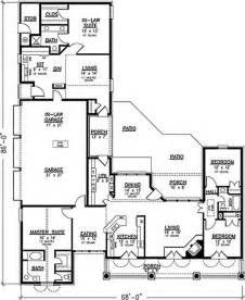 homes with inlaw apartments southern country house plans home design 20944