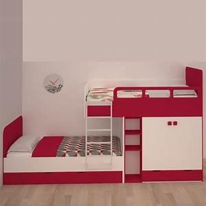 Lit Superposé Double : lit superpos d cal bambinos ~ Premium-room.com Idées de Décoration