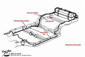 1980 Corvette Fuel  U0026 Vapor Return Lines Parts