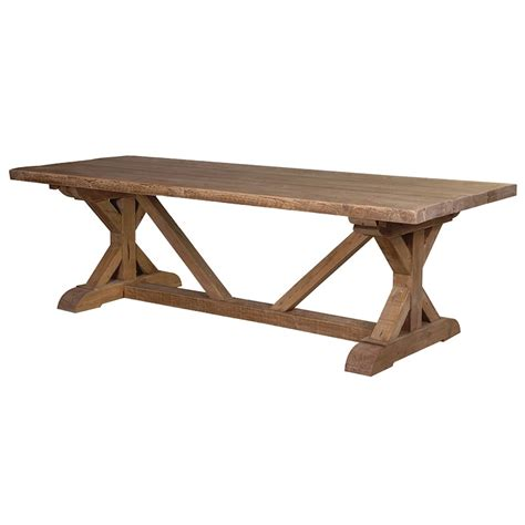 large tavern dining table reclaimed wood rustic