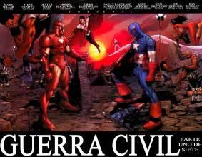 civil war guerra civil loquendo marvel