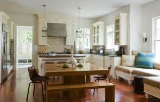 Kitchen Island With Seating For 4 Kitchen Window Seat Eclectic Kitchen The Banks Development Company
