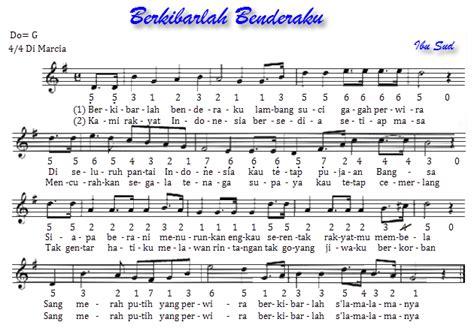 maju tak gentar not angka 36 not angka lagu wajib nasional filenya
