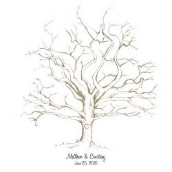 fingerprint tree free printable fingerprint tree weddings and receptions