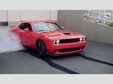 Dodge Challenger SRT Hellcat Burnout, Motor Authority