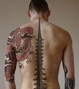 Cool Back Tattoo Idea for Men | Tattoos for Men