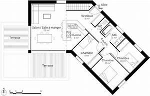 plan maison en v avec etage 13 d couvrez 5 plans de With plan maison en v avec etage