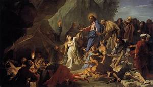 The Raising of Lazarus by JOUVENET, Jean-Baptiste