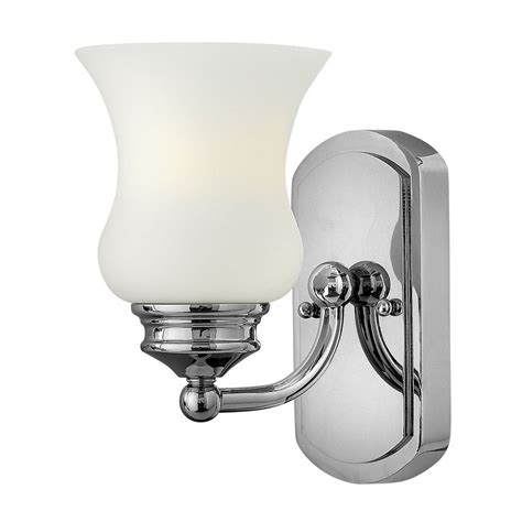 traditional ip44 chrome bathroom wall light with bell