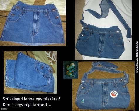 denim bag    jeans sewing projects
