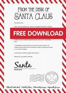 Warning letter from Santa Naught list